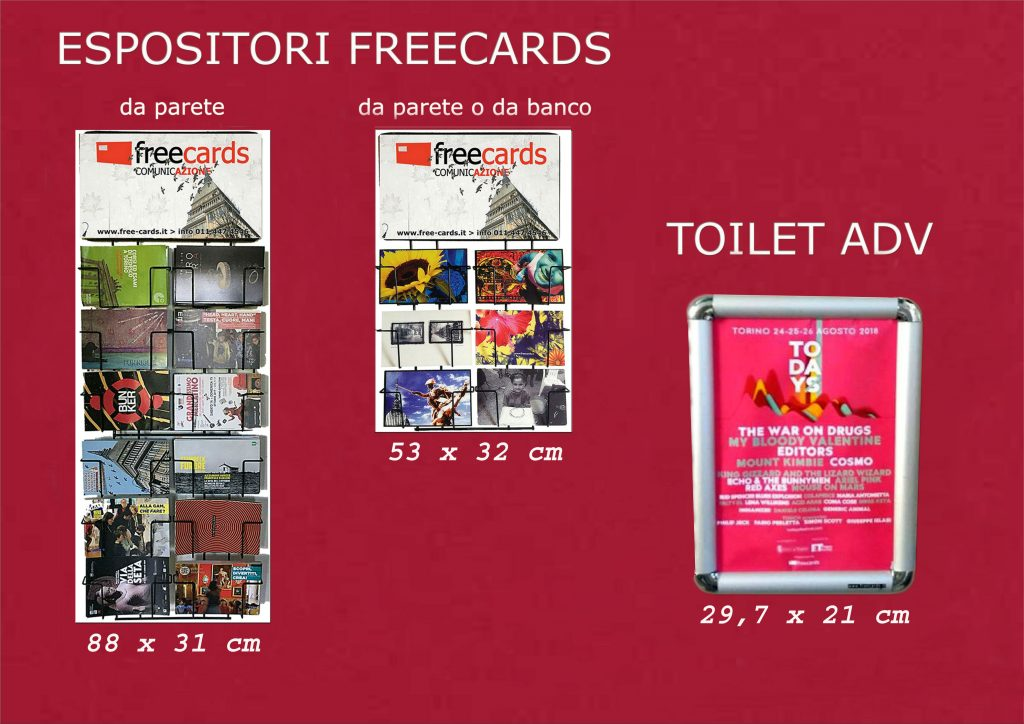 Freecards: Gli espositori