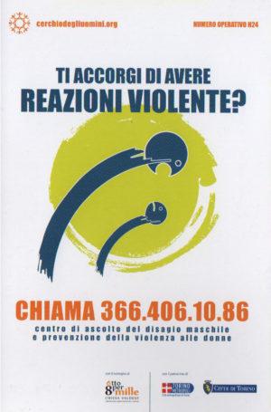 Ti accorgi di avere reazioni violente?