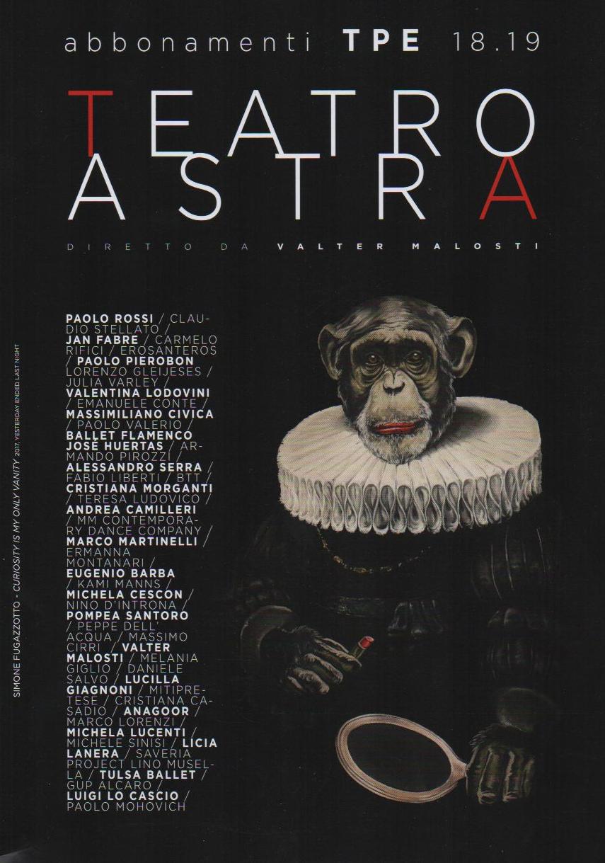 Freecard: Stagione 18.19 Teatro Astra TPE
