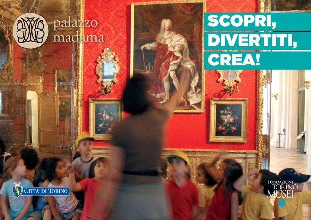 Scopri, divertiti, crea! – Palazzo Madama