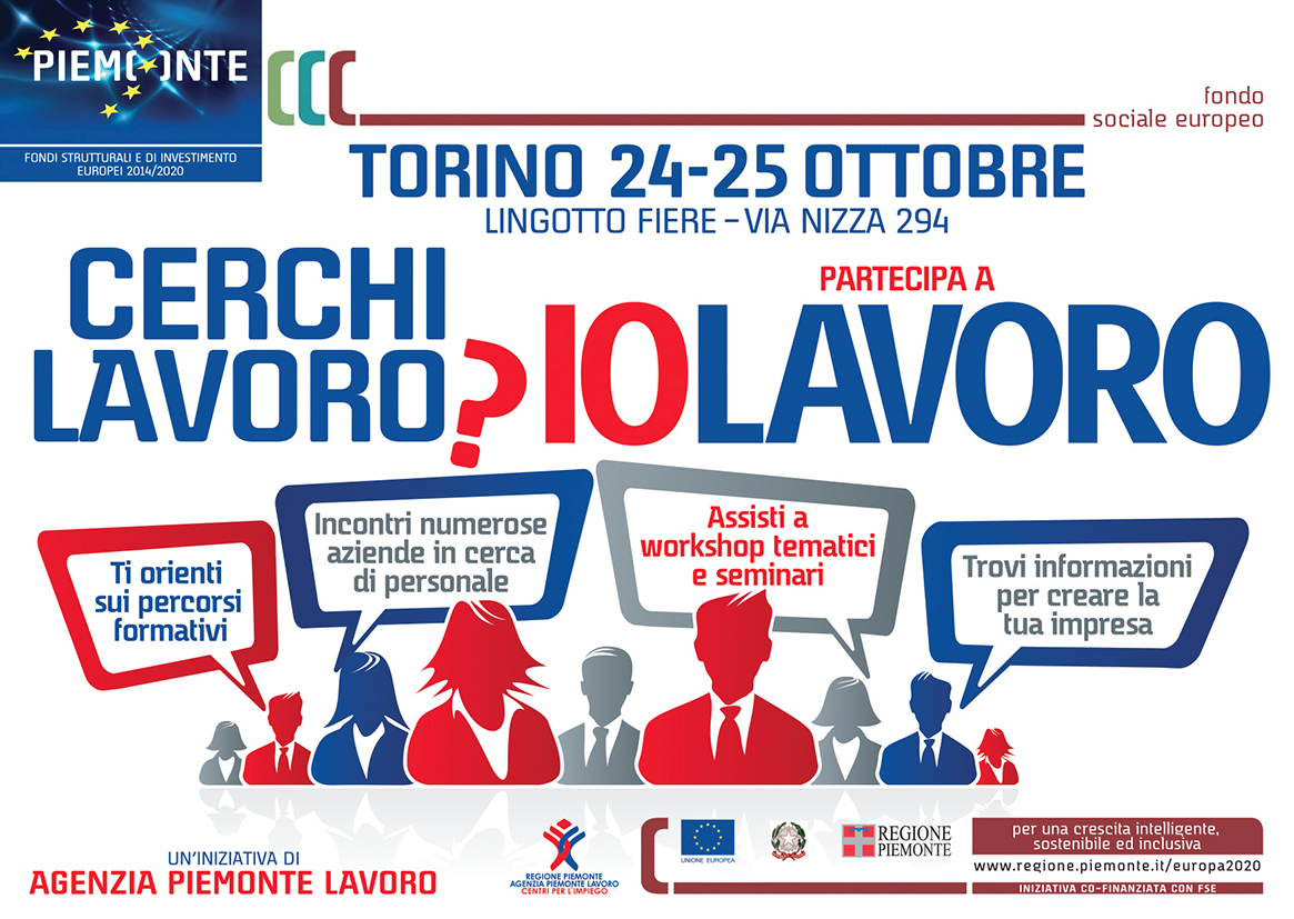 Freecards: Io Lavoro 2018 – Regione Piemonte