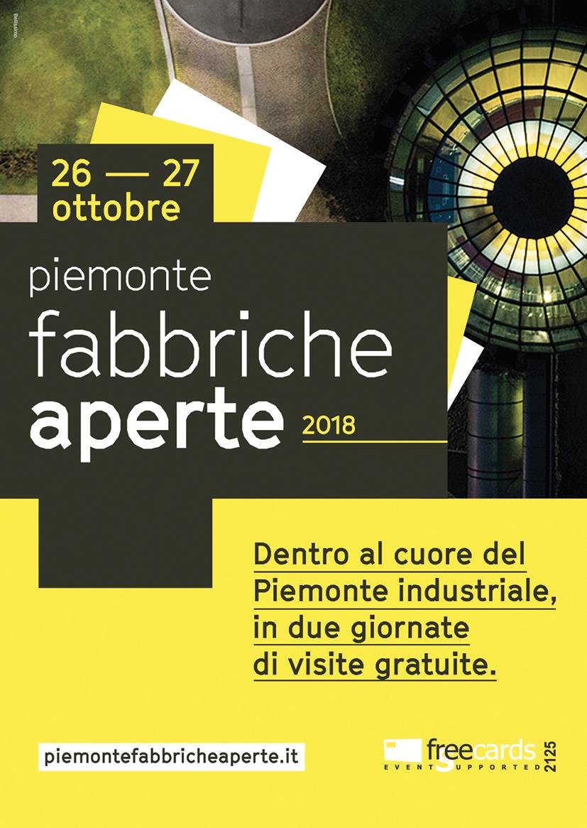 Freecards: Piemonte Fabbriche Aperte 2018