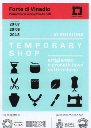 TEMPORARY SHOP Fondazione ARTEA